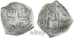 Concolacion Shipwreck (1681) Potosi, Bolivia Silver Cob 8 Reales 167 withCOA