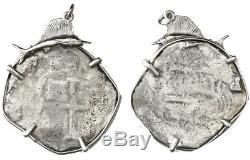 Consolacion Shipwreck (1681) Potosi Bolivia Cob 8 Reales In Silver Bezel