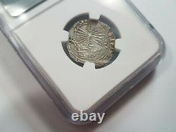 Ferdinand V & Isabel I SPAIN Real NGC VF 30 Silver 1474-1504 Seville Reales COB