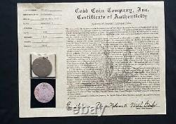 Mel Fisher, Cob Coin Co. Shipwreck 8 Reale, The 1810 Shipwreck, Silver Cob/coin