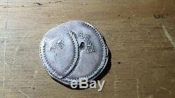 Mexican SILVER COB RARE DOUBLE STRIKE Coin Vargas y Sombrerete 1812 4 REALES
