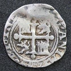 Mexico 1/2 Real COB Philip II Mo-O, 1.6 g