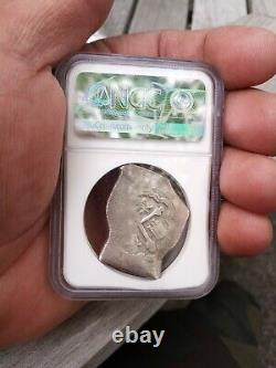 Mexico 8 Reales 1714 Dated! Silver Cob Pedigree 1715 Plate Fleet Shipwreck