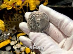 Mexico 8 Reales 1715 Dated Year Of 1715 Fleet Pirate Gold Coins Treasure Cob