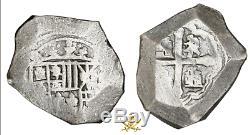 Mexico 8 Reales 1715 Fleet Shipwreck Real 8 Coa! Pirate Gold Coins Treasure Cob