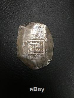 Mexico 8 Reals 23.3 Grams Silver Cob
