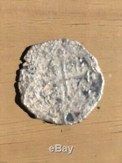 Mexico 8 reales Silver Cob. 23.3 Grams