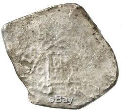 Mexico City, Mexico, cob 8 reales, (16)81 Shipwreck Joanna, sunk in 1682
