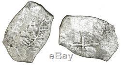 Mexico City Silver Cob 8 Reales Philip V 1715 Fleet With Fisher Tag & COA