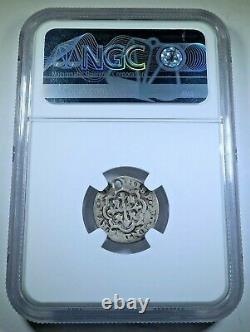NGC Royal Galano 1726 Mexico Silver 1/2 Reales Antique Spanish Colonial Cob Coin
