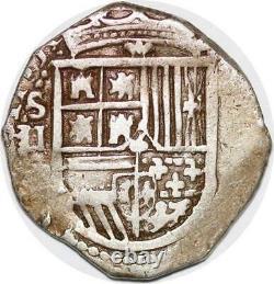 P0991 Colonial pirates Mexico Peru Venezuela 2 Reales cob Silver -Make offer