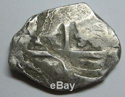 Philip 8 Real Cob Era Atocha Spain Peninsular Mint Spanish Colonial Silver Coin