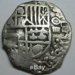 Philip III 4 Real Cob Potosi 1620 Spain Colonial Bolivia Silver Spanish