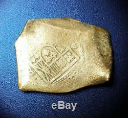 Philip V 8 Reales Cob Mexico Era 1715 Treasure Fleet Colonial Silver