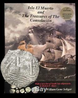 Potosi, Bolivia, Cob 8 Reales, 1679V, Consolacion (1681) Shipwreck with COA & Book