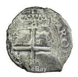 Potosi, Bolivia, Cob 8 Reales, 1680 V Consolacion (1681) Shipwreck with COA #2021