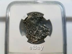 Princess Louisa Shipwreck 4 Reales NGC Silver COB Sunken Treasure Salvor's Hoard