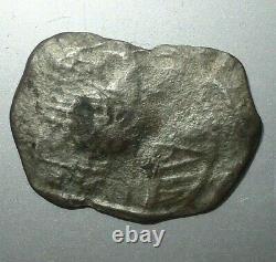 RARE 1618 Silver 8 Reales, Cob Coin, LIZARD Shipwreck Kynance, Cornwall, Kerris Reed