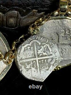Rare Full Date 1613 4 Reales Philip III Toledo Mint Atocha Era Cob