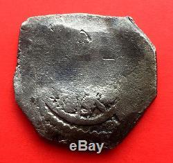 ¡¡ Rare! Silver Cob 8 Reales Of Philip V. Mexico (1701 1733)