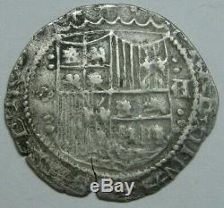 SPAIN 1 REAL COB 1400s SEGOVIA CATHOLIC KINGS FERDINAND&ISABEL SPANISH COLONIAL