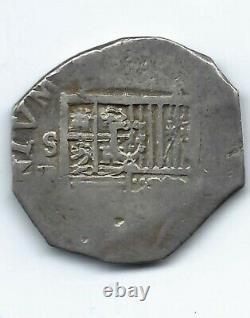 SPAIN 4 REALES COB SEVILLA Felipe III 1599-1621