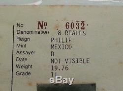 Santa Margarita 8 Reale Cob Shipwreck Treasure Coin Rare Mel Fisher Certificate