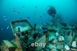 Shipwreck 8 Reales Silver Cob Coin