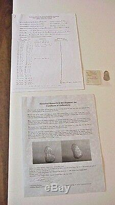 Silver Cob Coin 4 Reale 1715 Fleet Shipwreck Coin Mel Fisher Flip HR&D COA Log