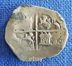 Spain/Spanish Colonial Silver Cob 4 Reales 13,13 grams