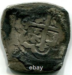 Spanish-American Colonial Mexico 4-real silver cob