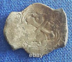 Spanish Colonial Silver Cob 8 Reales 27,55 grams
