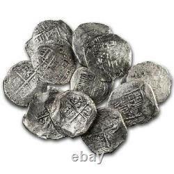 Spanish Empire Silver 8 Reales Cob (Shipwreck Effect) SKU#231670