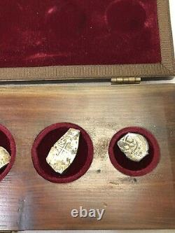 Spanish Treasure Fleet Cob Coins From 1715 Shipwreck Awesome Set Of Reales