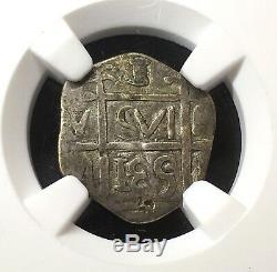 ¡¡ Unique! Silver Cob Real Barinas (caujaral) Venezuela. Date 185. Ngc