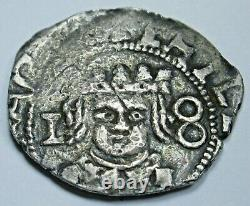 Valencia 1642 Spanish Silver 1 Reales Antique 1600's Colonial Cob Pirate Coin