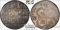 Venezuela 2 Reales 1817 VF20 PCGS silver FINEST & ONLY FULL DATE COB